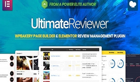 免费WordPress插件|Ultimate Reviewer for WPBakery Page Builder 可视化点评插件 – v2.6.1